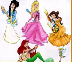 Disney Princess Rock by TT-RS