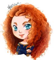 Chibi Merida by Meg-Marmite