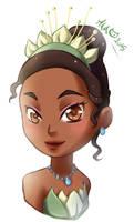 Chibi Tiana by Meg-Marmite