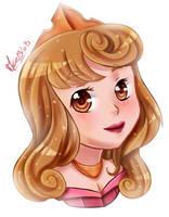 Chibi Aurora (Speedpaint) by Meg-Marmite