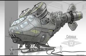 Vehicle design (colossus) by JonathanDufresne