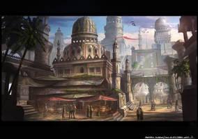 Cairo Market Place by JonathanDufresne