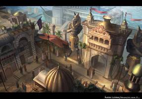 Dock Gate by JonathanDufresne