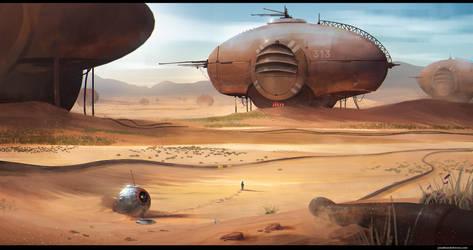 Desert Planet by JonathanDufresne