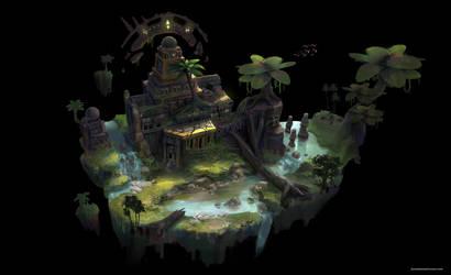 Temple Ruin by JonathanDufresne