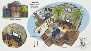 Room Concept by JonathanDufresne
