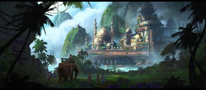 Temple-1 by JonathanDufresne