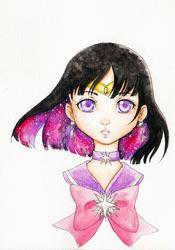 Sailor Saturn by Sumimi-pyon