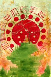 Bodhi tree - 10 x 15 by TheGreatGod