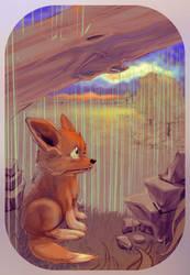the Hopeful Fox by TheGreatGod