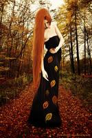Autumn Godess Fall by AKira1189