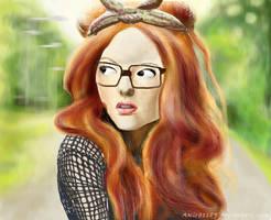 Portret I by AKira1189
