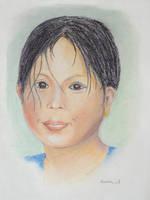 Balinese Girl by klazien