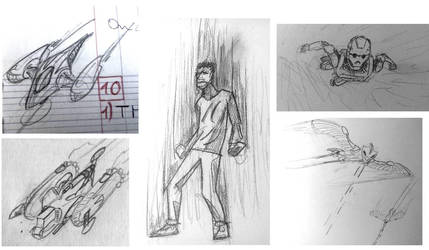 Some Sketches by Azerty72200