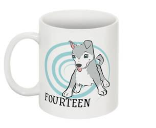 Counting Mugs 14 Blaze the Siberian Husky by FanArtGal