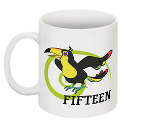 Counting Mugs 15 Coco the Toucan by FanArtGal