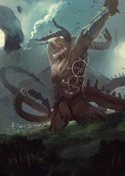 Narghot's ascent by SandroRybak