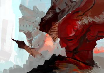 knights of the round by SandroRybak