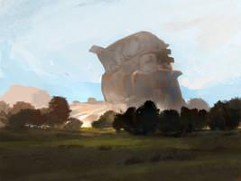The Hill Giant by SandroRybak