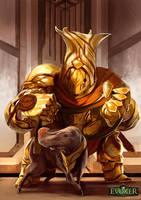 Throne Guard by SandroRybak
