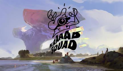 KRAAAB SQUAD BANNER by SandroRybak