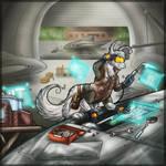 Patreon - Welder Tak by Keetah-Spacecat