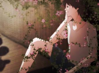 kabe no hana(wallflower) by Masami-K