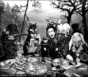 Tea Party With Friends by HumanPinCushion