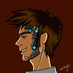 Cyberplanner 10th Doctor by mannytintin