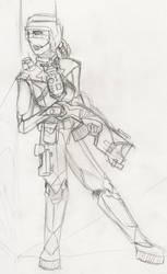 SciFi Sketch by Takirami