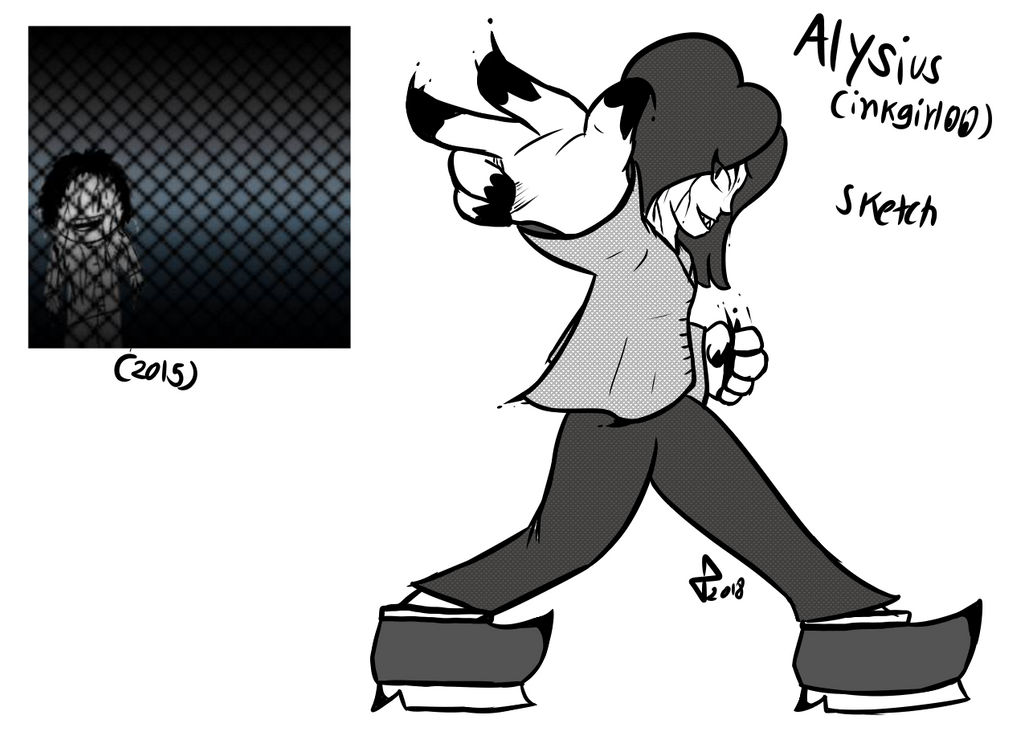 Alysius (character from 2015) by GlitchyPSIX