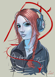 Illustration Dozkan by vurdeM