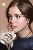 Photostudy - Young moon by vurdeM