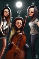 L.E.J Fanart Illustration / cover by vurdeM