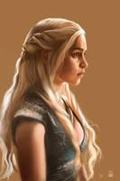 Game of Thrones-Daenerys Targaryen(Emilia Clarke) by vurdeM