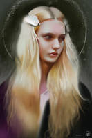 Nastya Kusakina / painting practice by vurdeM