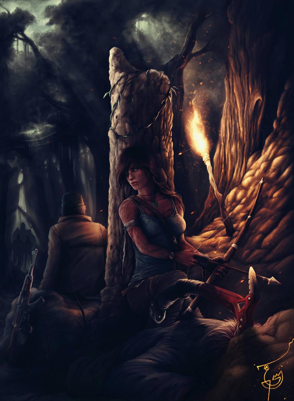 Survivor Tomb Raider by thegameworld