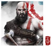 Kratos by thegameworld