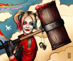 Harley Quinn by thegameworld