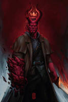 Hellboy by thegameworld