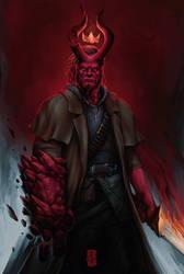 Hellboy by thegameworld