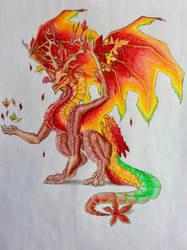 Autumn Dragon by Tiger1609