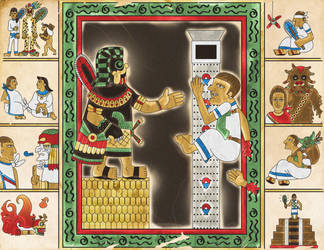 Star Wars - Aztec Version by labalaenlabiblia