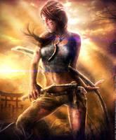 AMAZON LARA: In Elements - Tomb Raider 2013 promo by Eddy-Shinjuku