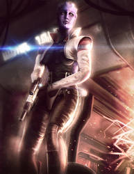 ARIA: Taking Back What Is Mine - Mass Effect 3 by Eddy-Shinjuku