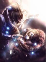 ADIEU MY FRIEND - Mass Effect FanFic (Commission) by Eddy-Shinjuku