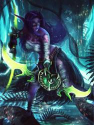 SELENDIS - World of Warcraft OC Commission by Eddy-Shinjuku