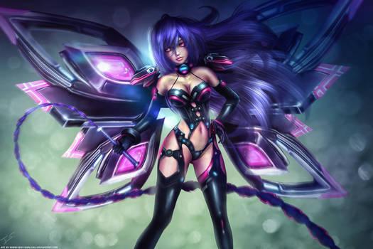 IRiS HEART - Hyperdimension Neptunia by Eddy-Shinjuku
