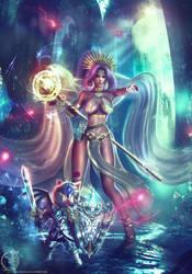 Final Fantasy XIV Runes Archmage - Jeanne Suikoden by Eddy-Shinjuku