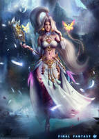 JEANE: The Rune Mistress - Final Fantasy XIV by Eddy-Shinjuku